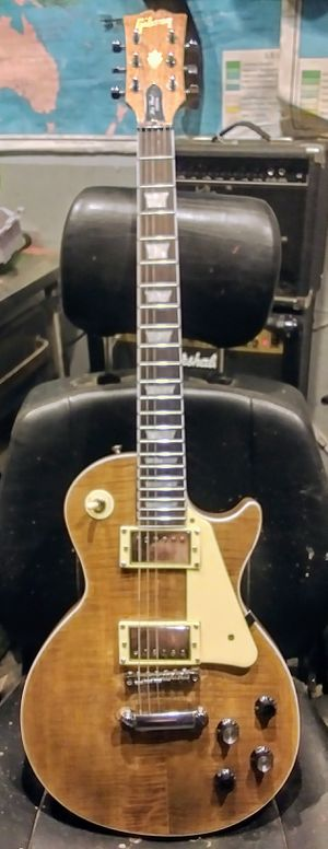 Gibson Les Paul Guitar Copy, Natural for Sale in Covina, CA