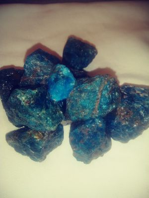 rough blue apatite healing crystal for Sale in St Louis, MO