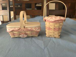 Longaberger breast cancer baskets for Sale in Mesa, AZ