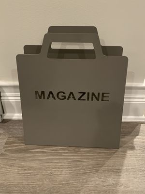 Magazine Holder (grey) for Sale in New Rochelle, NY