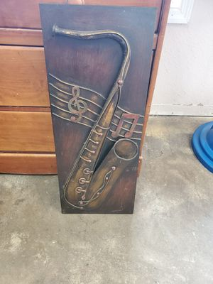 3D ssxophone metal wall decor for Sale in Brooksville, FL