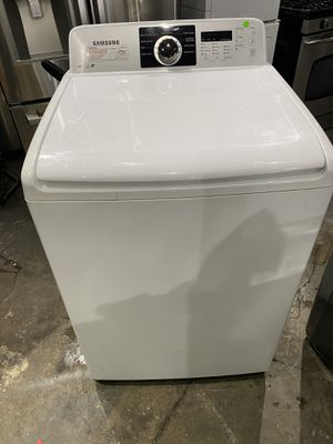 Samsung washer energy star works perfect clean one receipt for 30 days warranty for Sale in Salem, MA