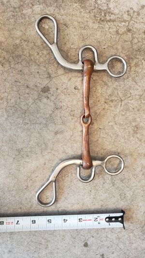 Copper and stainless snaffle bit for Sale in Sammamish, WA
