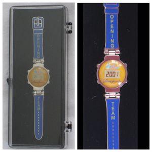 disney disneyland/DCA cast exclusive CALIFORNIA ADVENTURE countdown watch pin for Sale in Tustin, CA