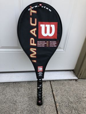Wilson Tennis Racket (Brand New!) for Sale in Harper Woods, MI