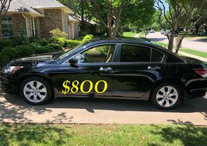🍁🔥$8OO URGENT I sell my family car 2OO9 Honda Accord Sedan V6 EX-L 𝓹𝓸𝔀𝓮𝓻 𝓢𝓽𝓪𝓻𝓽 Runs and drives very smooth.🍁🔥 for Sale in LOS ANGLS Air Force Base, CA