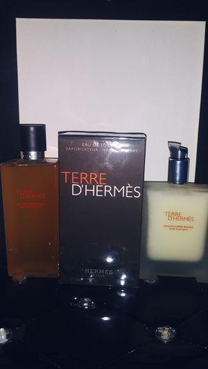 Terre d'hermes by hermes for men 3 piece 100 ML EDT for Sale in Houston, TX