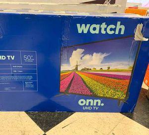Brand New ONN UHDTV! Open box w/ warranty NOHD for Sale in Mesquite, TX