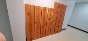 Wood shelves different sizes planks for Sale in Miami, FL