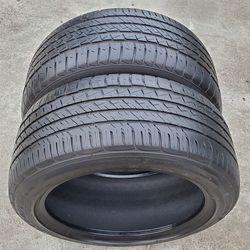 Goodyear EAGLE F1 ASYMMETRIC ALL-SEASON 255/45R18 Pair (2 tires) 255/45/18 for Sale in Sacramento,  CA