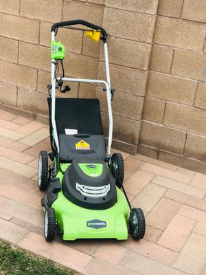 lawn mower green works for Sale in Las Vegas, NV