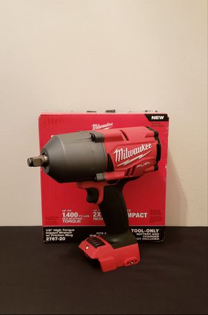 New Impact Wrench Milwaukee 1/2 Inch. ONLY TOOL NO CHARGER OR BATTERIES FIRM PRICE for Sale in Woodbridge, VA