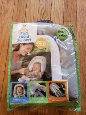 2 in 1 car seat infant head support for Sale in Haddonfield, NJ