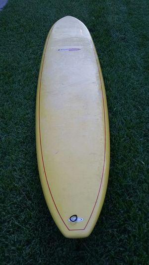 9.0 Longboard surfboard yellow surf tech epoxy for Sale in Katy, TX