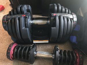 Bowflex weights for Sale in Garland, TX