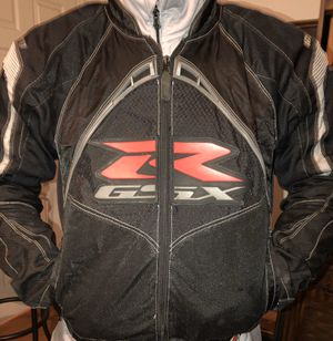 Suzuki Contra gsxr motorcycle jacket for Sale in White House, TN