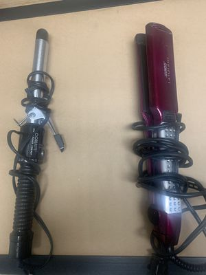 CONAIR STRAIGHTENER AND CURLING IRON for Sale in Antioch, CA