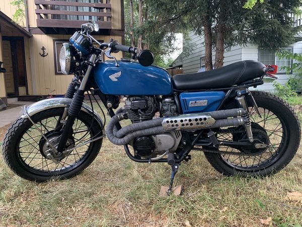 74' Honda CL360 Motorcycle