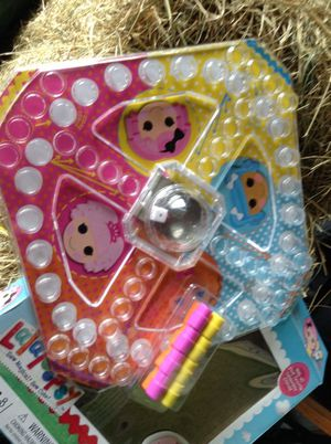 Lalaloopsy pop up game like new complete all pieces for Sale in Riverview, FL