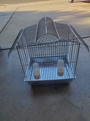 Bird cage & 2 water bottles for Sale in Fremont, CA