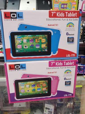 "7"" kids TABLET AVAILABLE WITH WIFI 16GIG MEMORY QUADCORE PROCESSOR WITH webcam. for Sale in Los Angeles, CA"