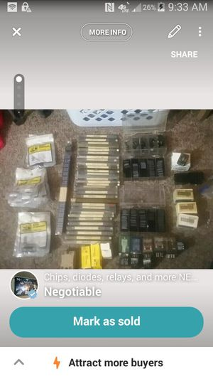 Chips relays diodes for Sale in New Albany, IN