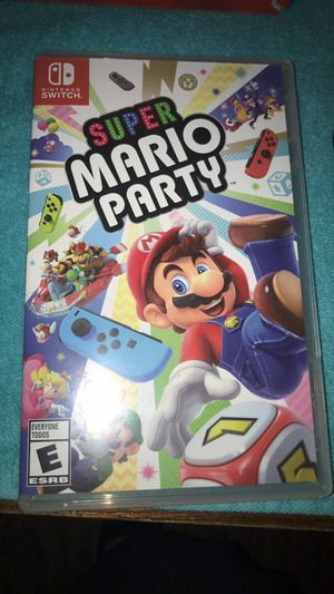 Super Mario party Nintendo switch game for Sale in Mesquite, TX
