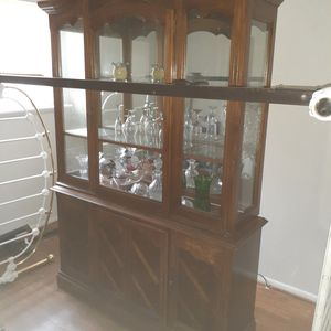 2 piece Buffet cabinet for Sale in Columbus, OH