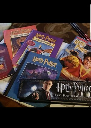 Harry potter wand/journals/coloring book/stickers for Sale in Federal Way, WA