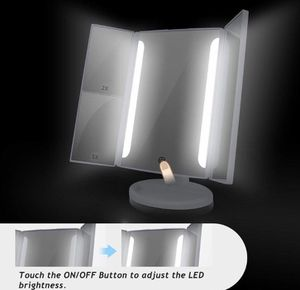 LED Lighted Makeup Vanity Mirror w LED Lights, 2x/3x/10x Magnifying $20 OBO for Sale in Rosemead, CA