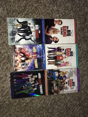 Big Bang theory 1-6 seasons for Sale in Austin, TX