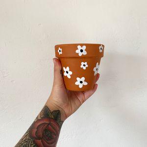 "Flower Terracotta Pot 4"" for Sale in San Diego, CA"