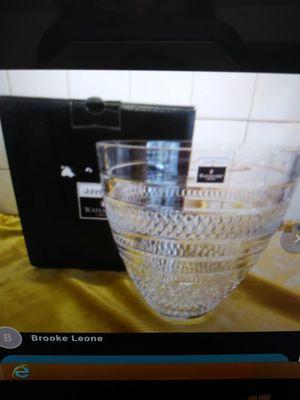 New! Waterford John Rocha Voya Bouquet Vase! for Sale in Sudbury, MA