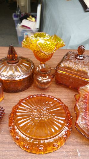 Amber glass collection for Sale in Decatur, GA