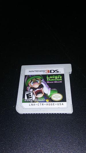 3DS Luigis Mansion Dark Room for Sale in Houston, TX