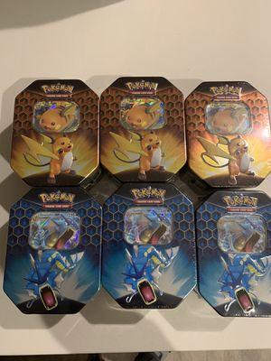Pokemon hidden fates tin boxes for Sale in Los Angeles, CA