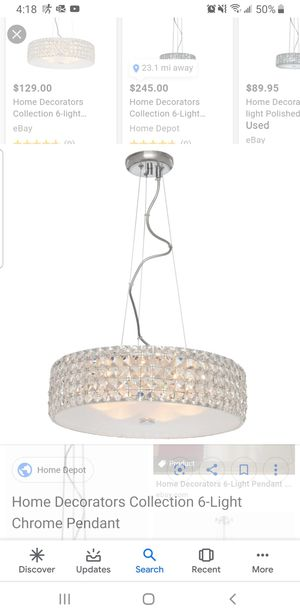 New home decorators crystal Chandelier for Sale in Inglewood, CA