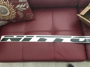 "Nitto tires 36"" windshield banner decal sticker for Sale in Kissimmee, FL"