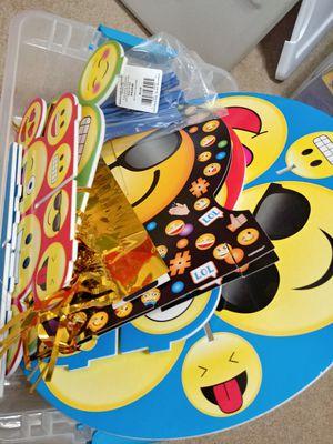 Emoji Theme Birthday Decorations for Sale in Umatilla, FL