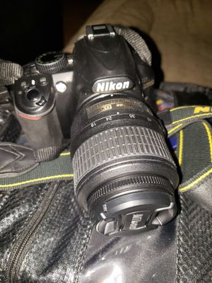 Nikon D3100 with 3 lens for Sale in Alexandria, VA