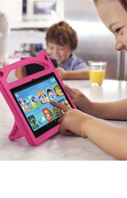 Kids Case for All-New Fire HD 8 & Plus Tablet 2020 - Auorld Lightweight Kid-Proof Shockproof Case with Handle Stand for Amazon Fire HD 8 inch Tablets for Sale in Calimesa,  CA