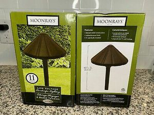 x2 Moonrays Galena Low Voltage Outdoor Path Lights With 11-watt Lamp Die Cast for Sale in Phoenix, AZ
