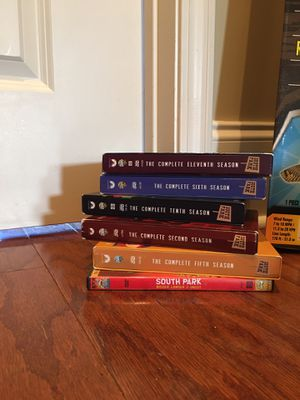 South Park Seasons 2, 5, 6, 10, 11 & movie for Sale in Columbus, MS