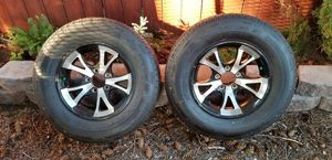 Pair of Brand New Trailer / Boat Custom Rims and Tires for Sale in Vancouver, WA