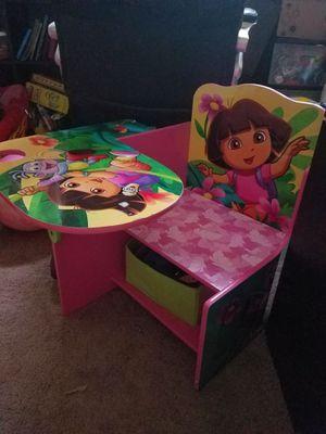 Dora kids desk for Sale in San Antonio, TX