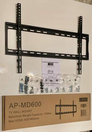 "New LCD LED Plasma Flat Fixed TV Wall Mount stand 32 37"" 40"" 42 46"" 47 50"" 52 55"" 60 65"" inch tv television bracket 100lbs capacity for Sale in Pico Rivera, CA"