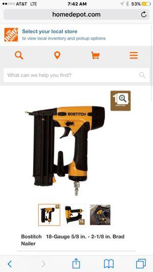 Bostitch 18 gauge brad nailer trim gun brand new for Sale in Austin, TX