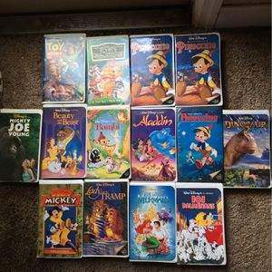 Collectable Black Diamond Disney Vhs Tapes for Sale in New Port Richey, FL