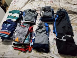 Shirts, pants, shorts, sandals size 5-10/12 for Sale in Puyallup, WA