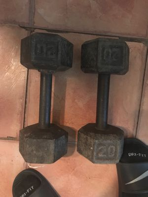 Dumbbell weights for Sale in San Antonio, TX